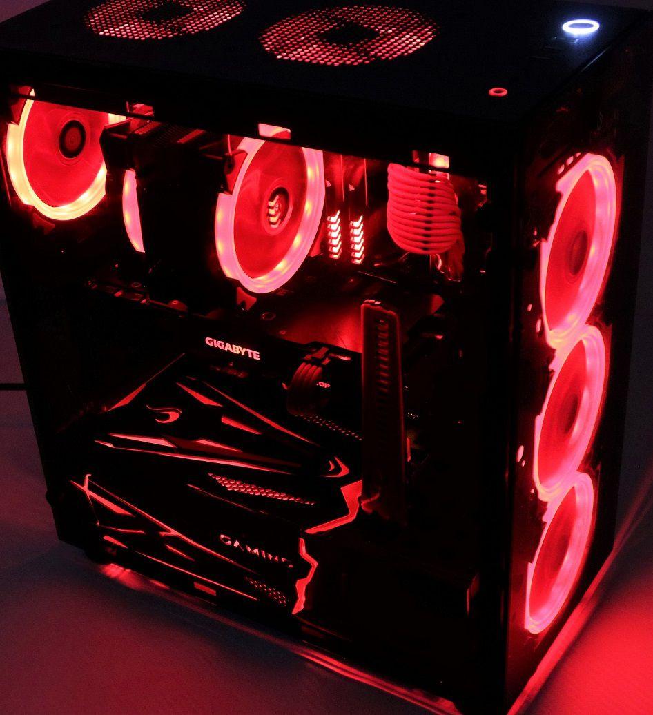 Cover Gamer para Fonte  Rise Mode RS1 - RGB  - Loja Rise Mode