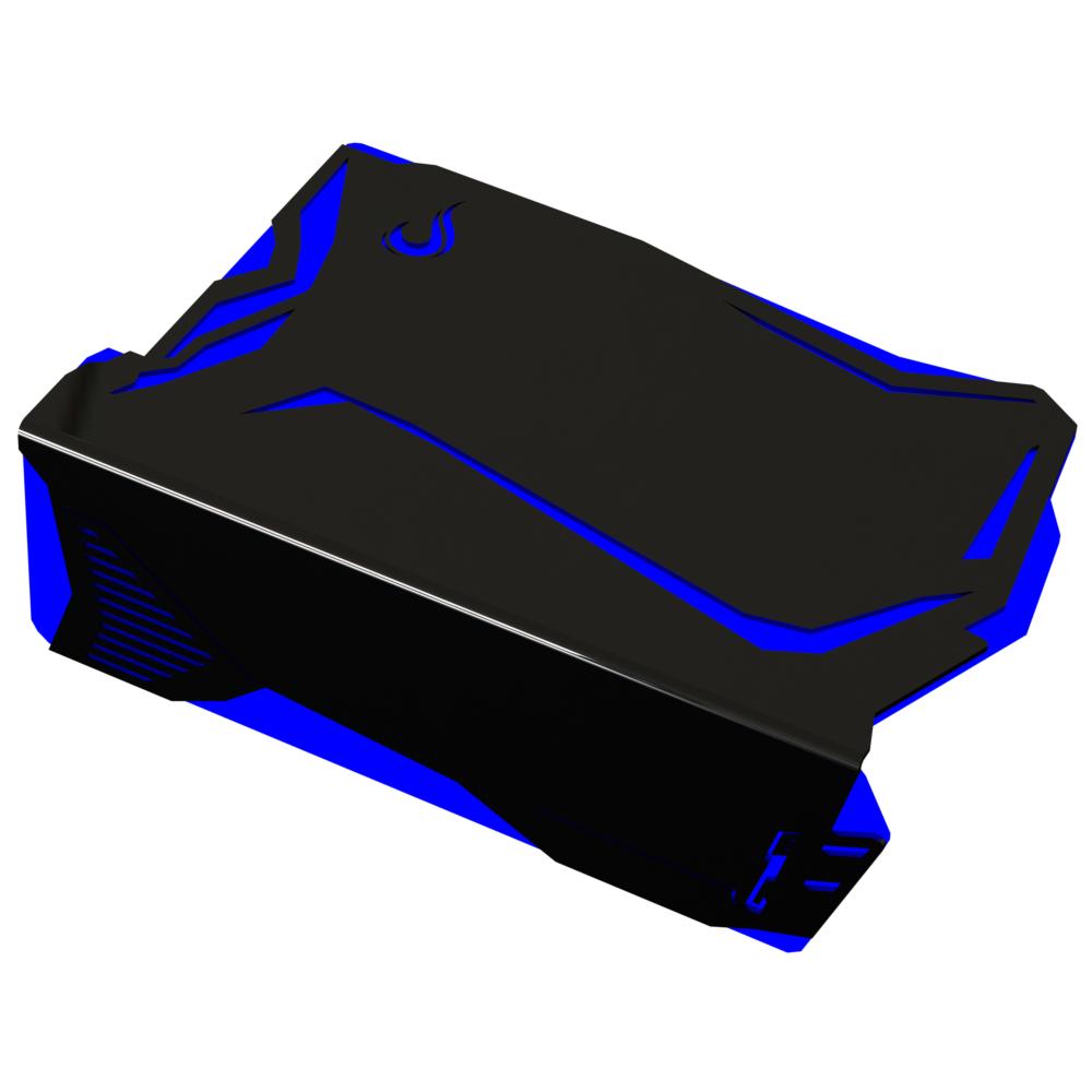 Cover para Fonte Rise Mode Venon RGB Controle Molex - Motherboard