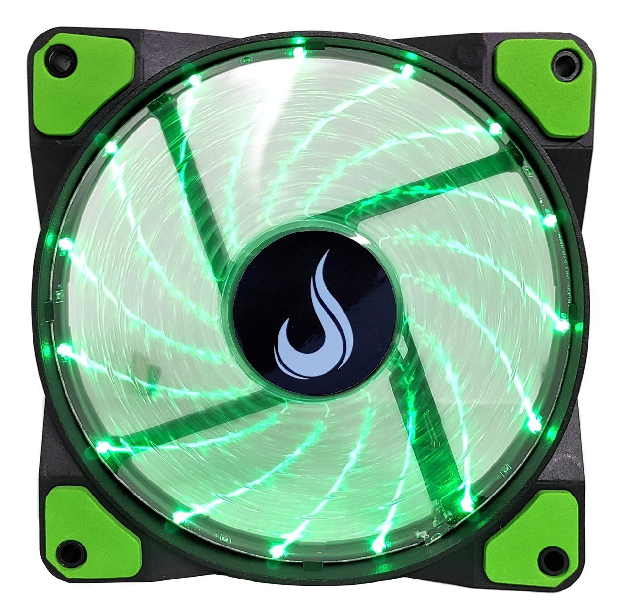 Fan Gamer Rise Mode Wind Led  - Loja Rise Mode