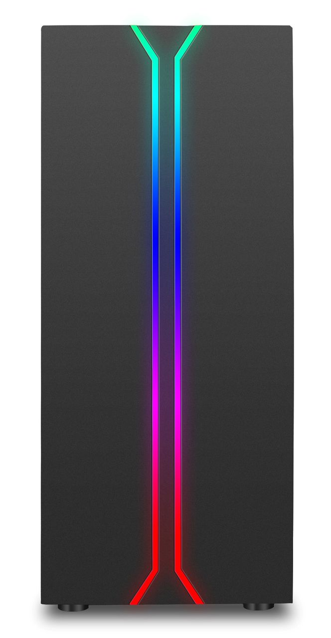 GABINETE GAMER LIKETEC RAINBOW  (PRODUTO PARCEIRO)  - Loja Rise Mode