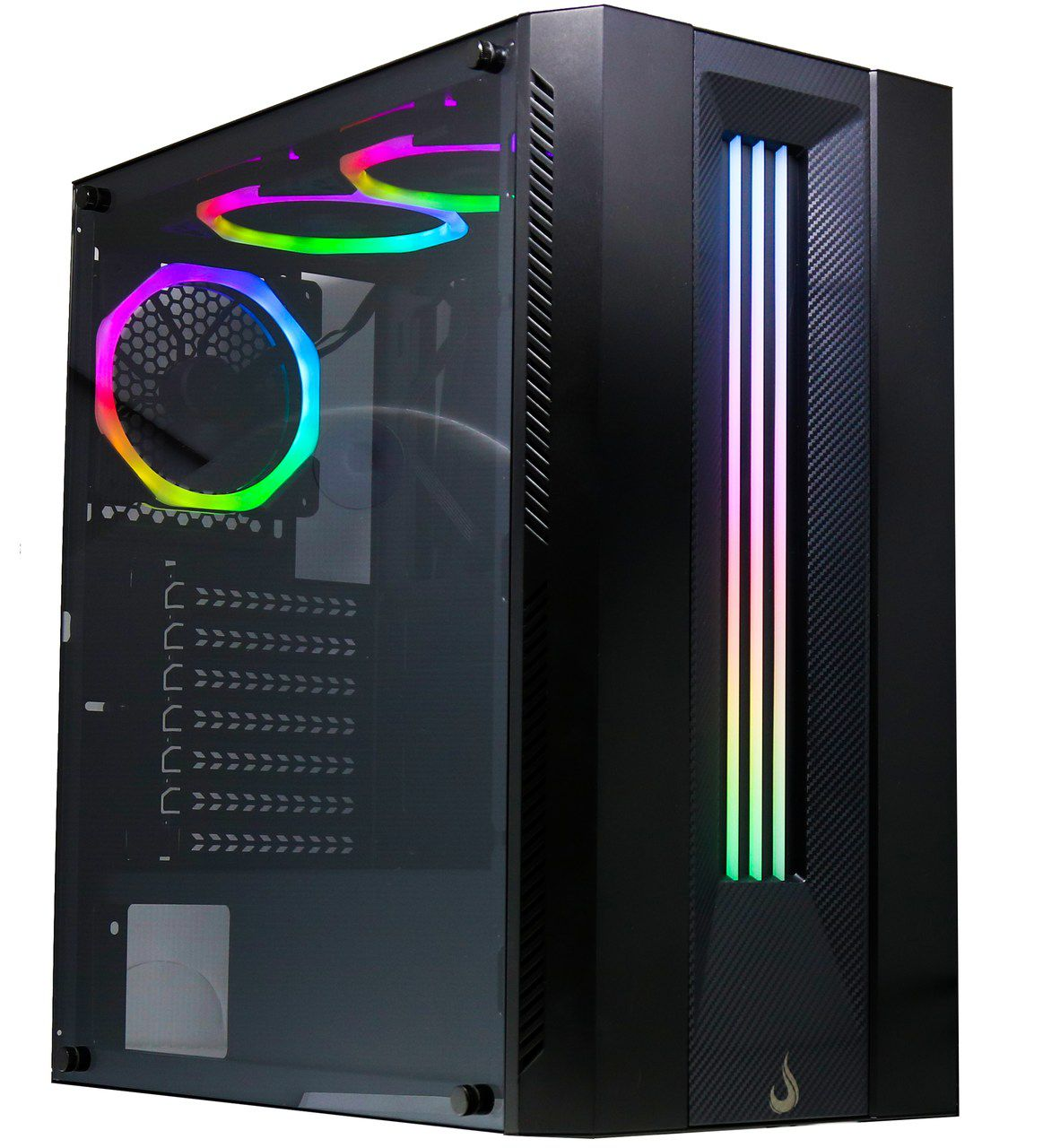 Gabinete  Gamer Rise Mode Glass 03 - RGB 3 fans