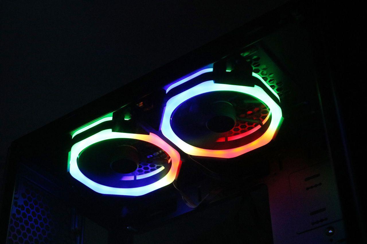 GABINETE GAMER RISE MODE GLASS 04 - RGB 5 fans  - Loja Rise Mode