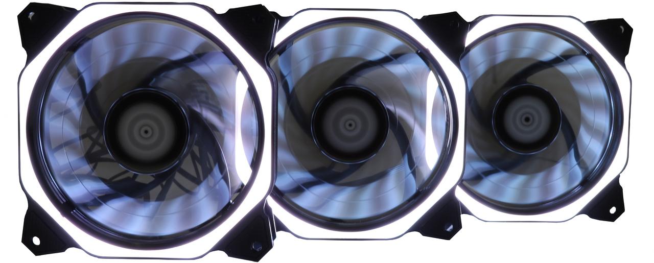 Kit Fan Gamer Rise Mode Aura RGB   - Loja Rise Mode