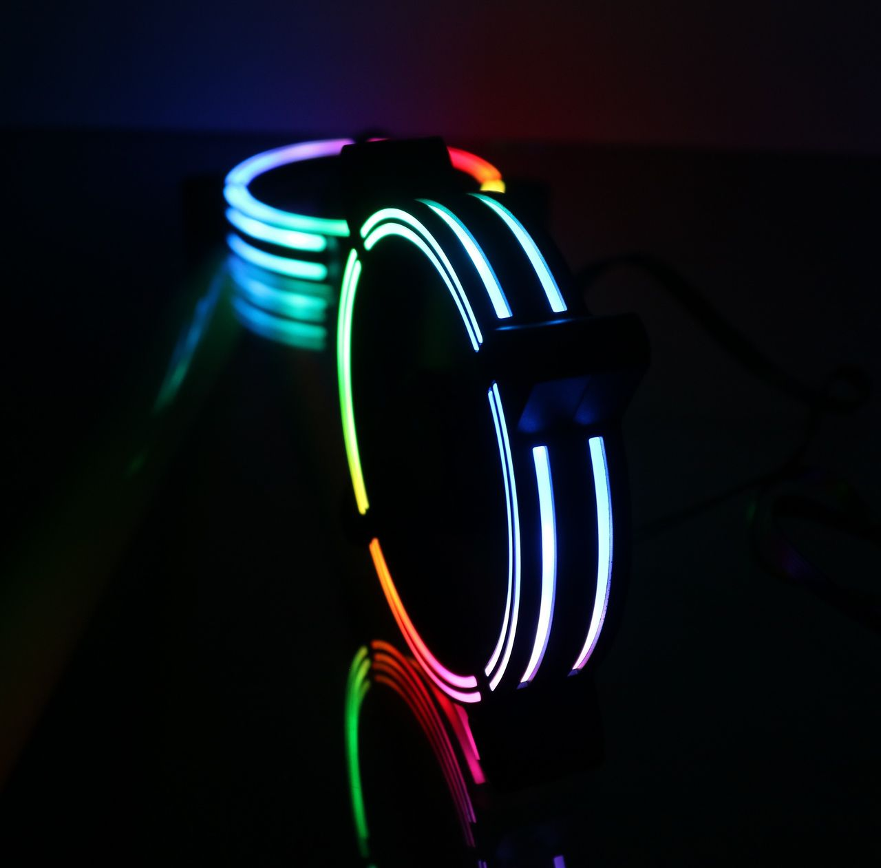 Kit Fan Gamer Rise Mode Tornado MB RGB led (3 Fans) - Loja Rise Mode