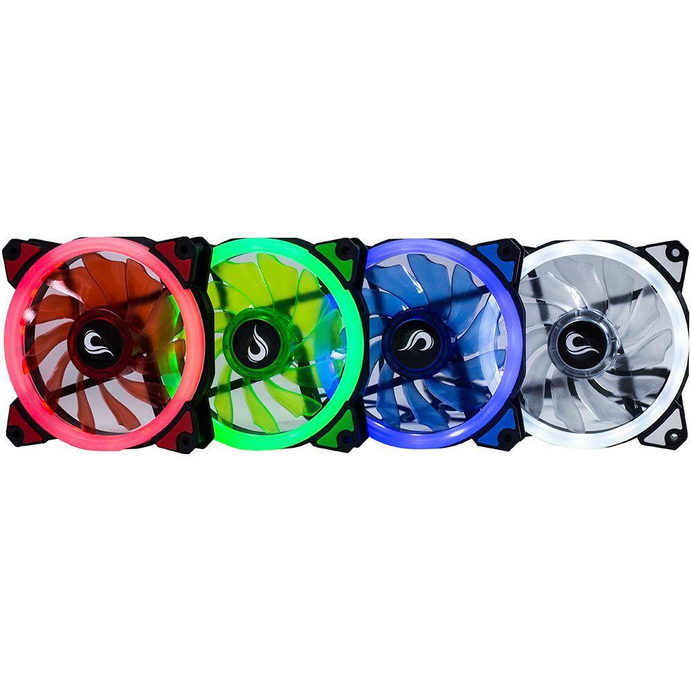 Kit fan Rise Mode Galaxy 01 - embalagem  3 unidades   - Loja Rise Mode