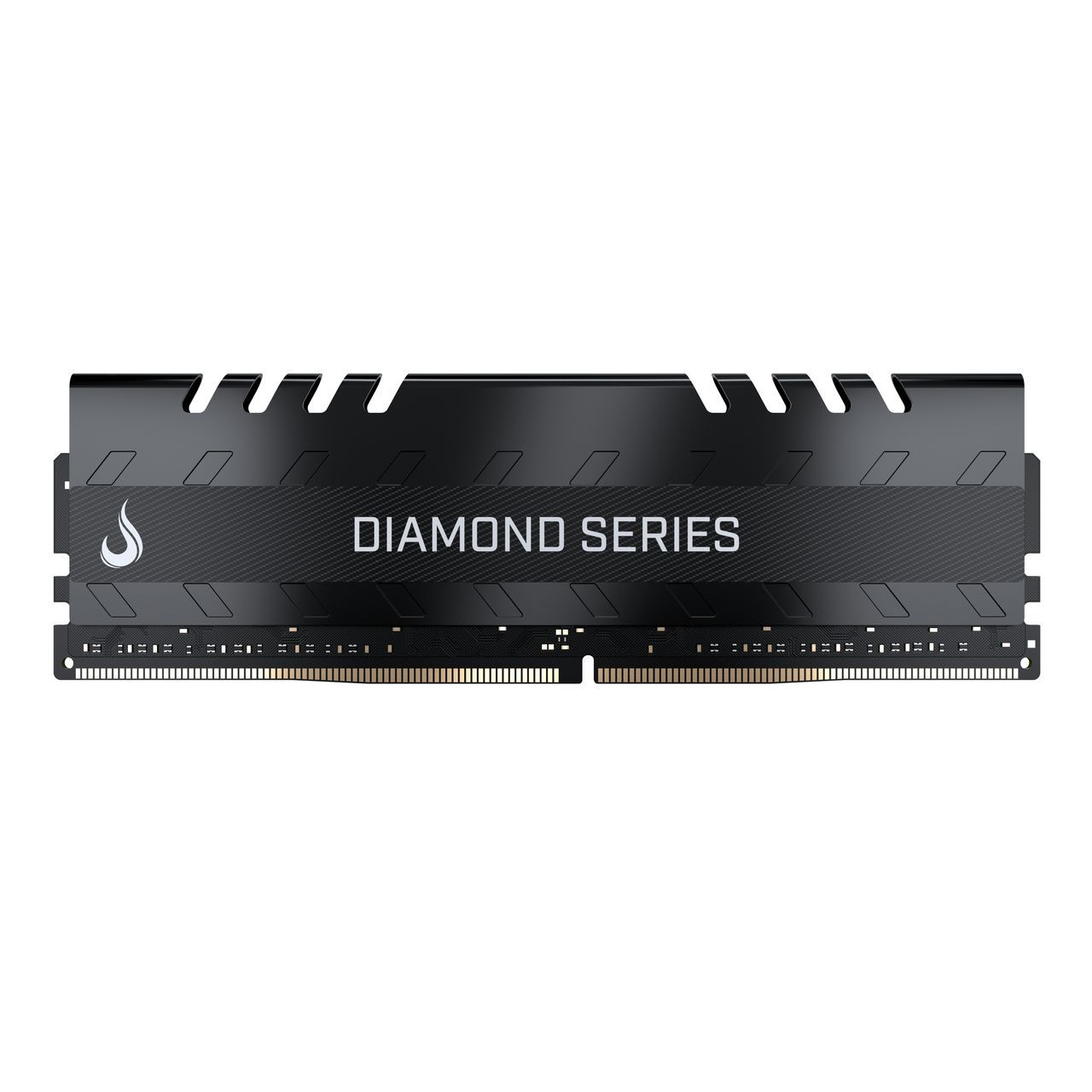 Memoria Ram DDR4 4GB 2400MHZ Diamond - RM-D4-4G-2400D  BLACK  - Loja Rise Mode