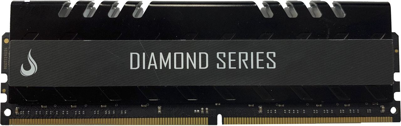 Memoria Ram DDR4 4GB 3000MHZ Diamond - RM-D4-4G-3000D  BLACK