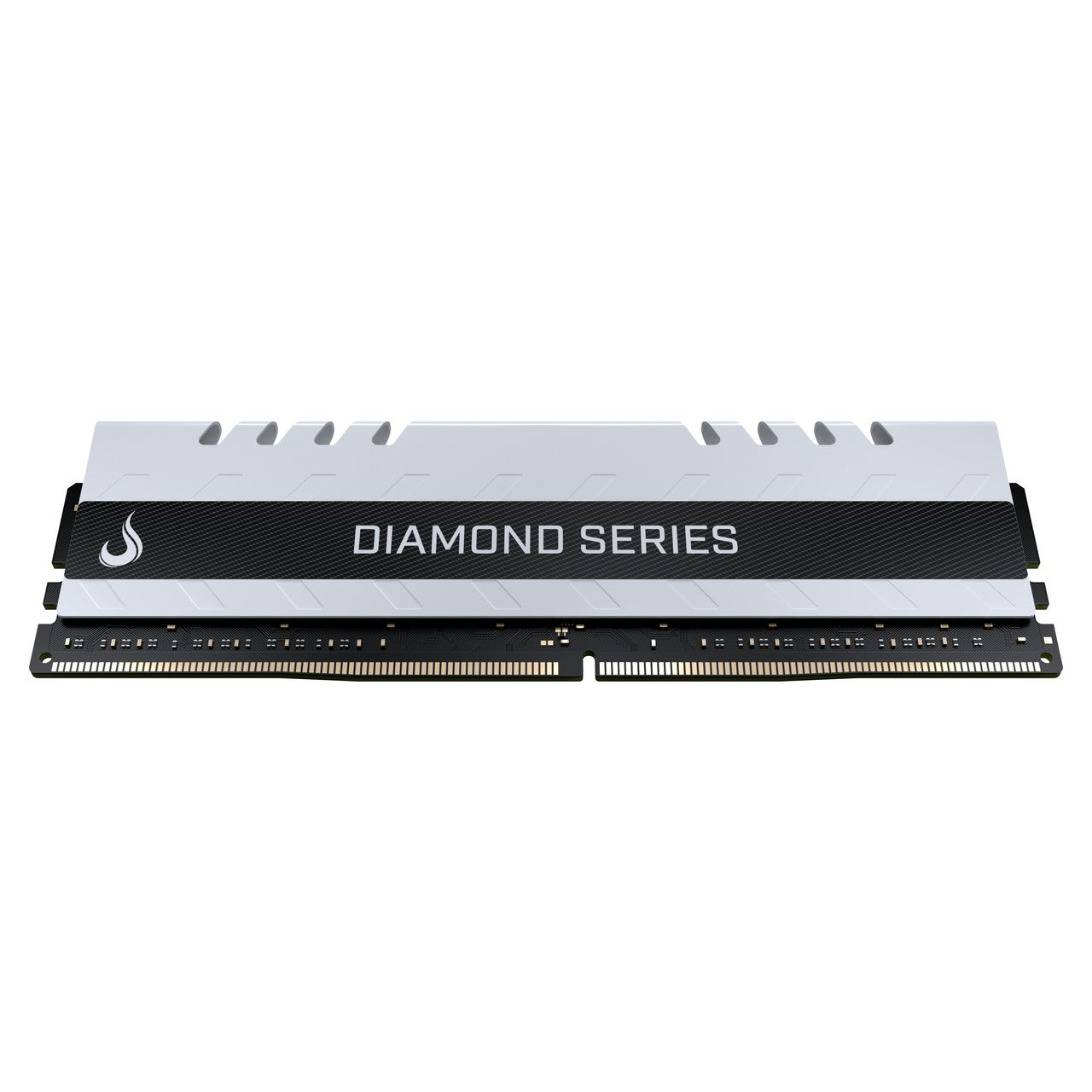 Memoria Ram DDR4 4GB 3000MHZ Diamond - RM-D4-4G-3000D  WHITE  - Loja Rise Mode
