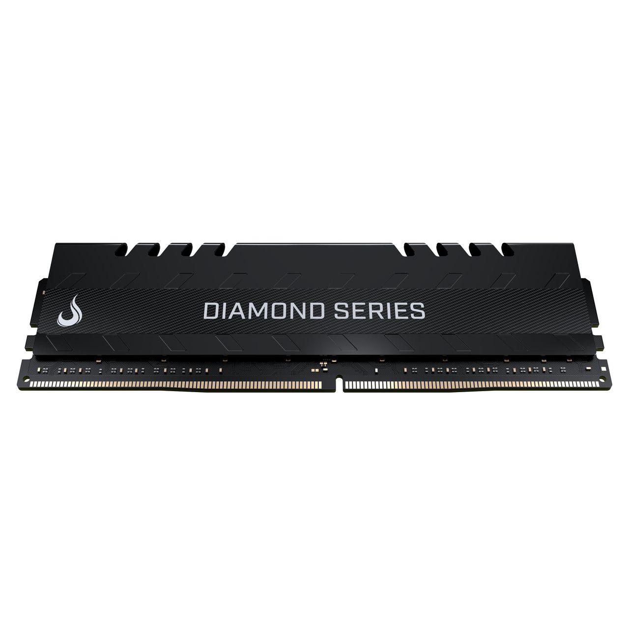 Memoria Ram DDR4 8GB 2400MHZ Diamond - RM-D4-8G-2400D BLACK  - Loja Rise Mode