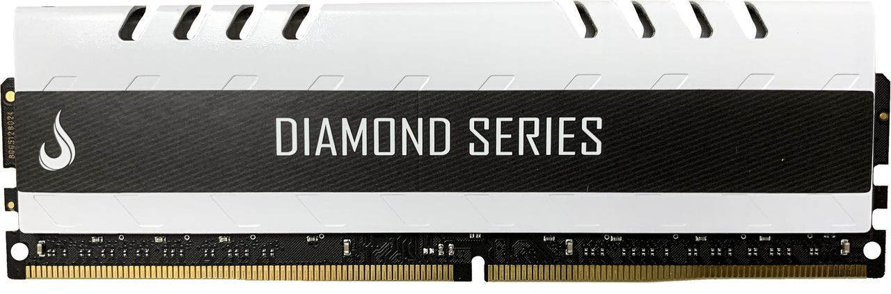 Memoria Ram DDR4 8GB 3000MHZ Diamond - RM-D4-8G-3000D WHITE