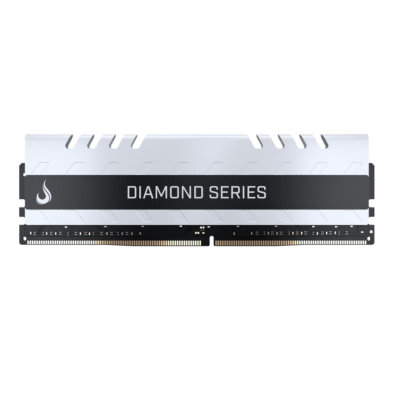 Memoria Ram DDR4 8GB 3000MHZ Diamond - RM-D4-8G-3000D WHITE  - Loja Rise Mode