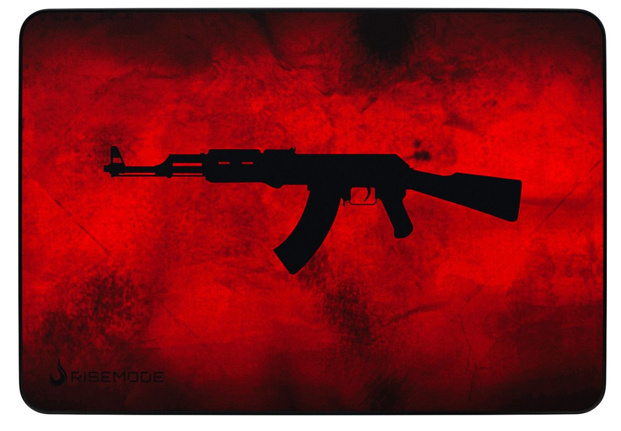 Mousepad Rise Mode AK47 RED