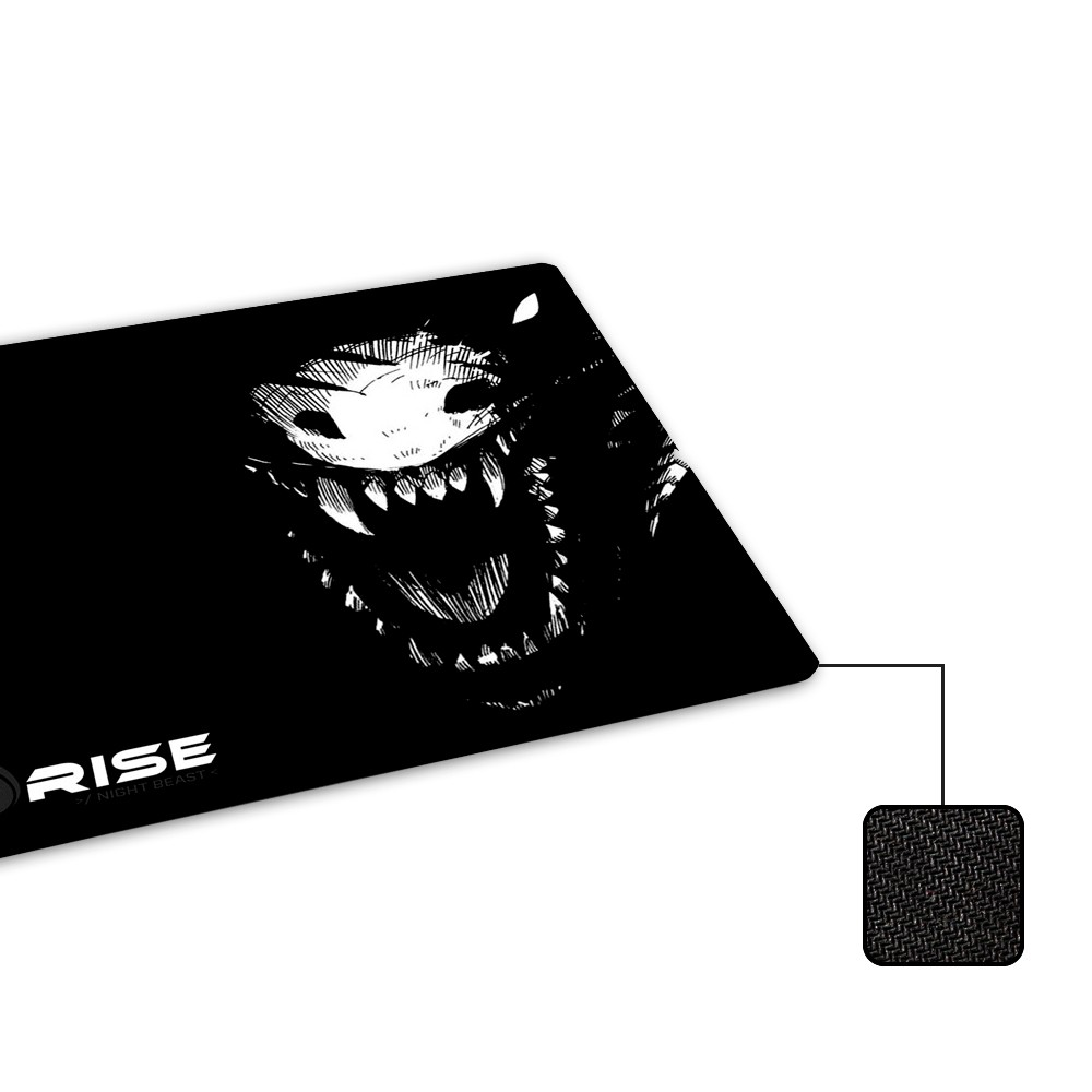 Mousepad Rise Mode Night Beast - Compact - Loja Rise Mode