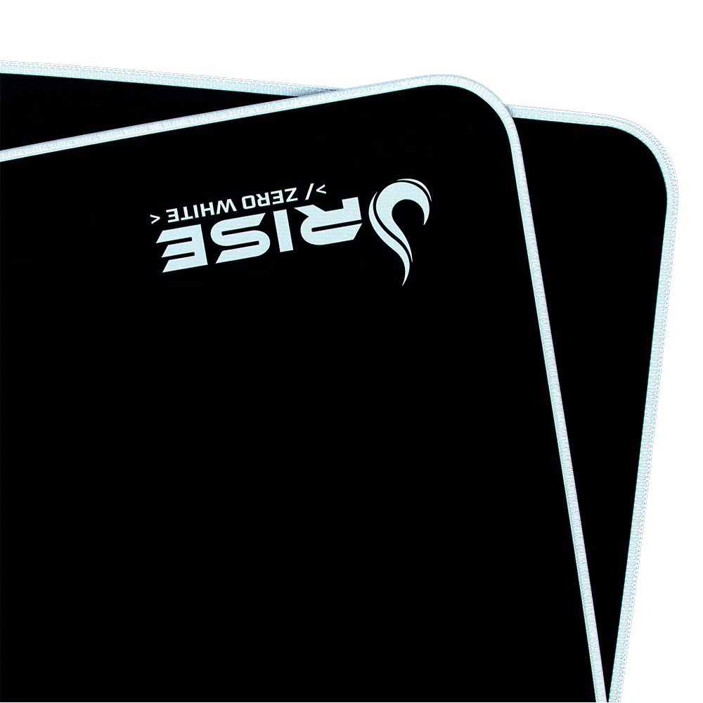 Mousepad Rise Mode Zero Branco  - Loja Rise Mode