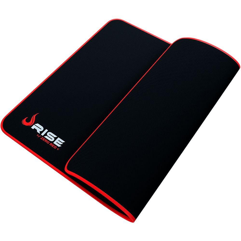 Mousepad Rise Mode Zero Vermelho