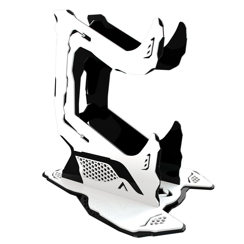 Suporte Controle Rise Mode - Preto e Branco