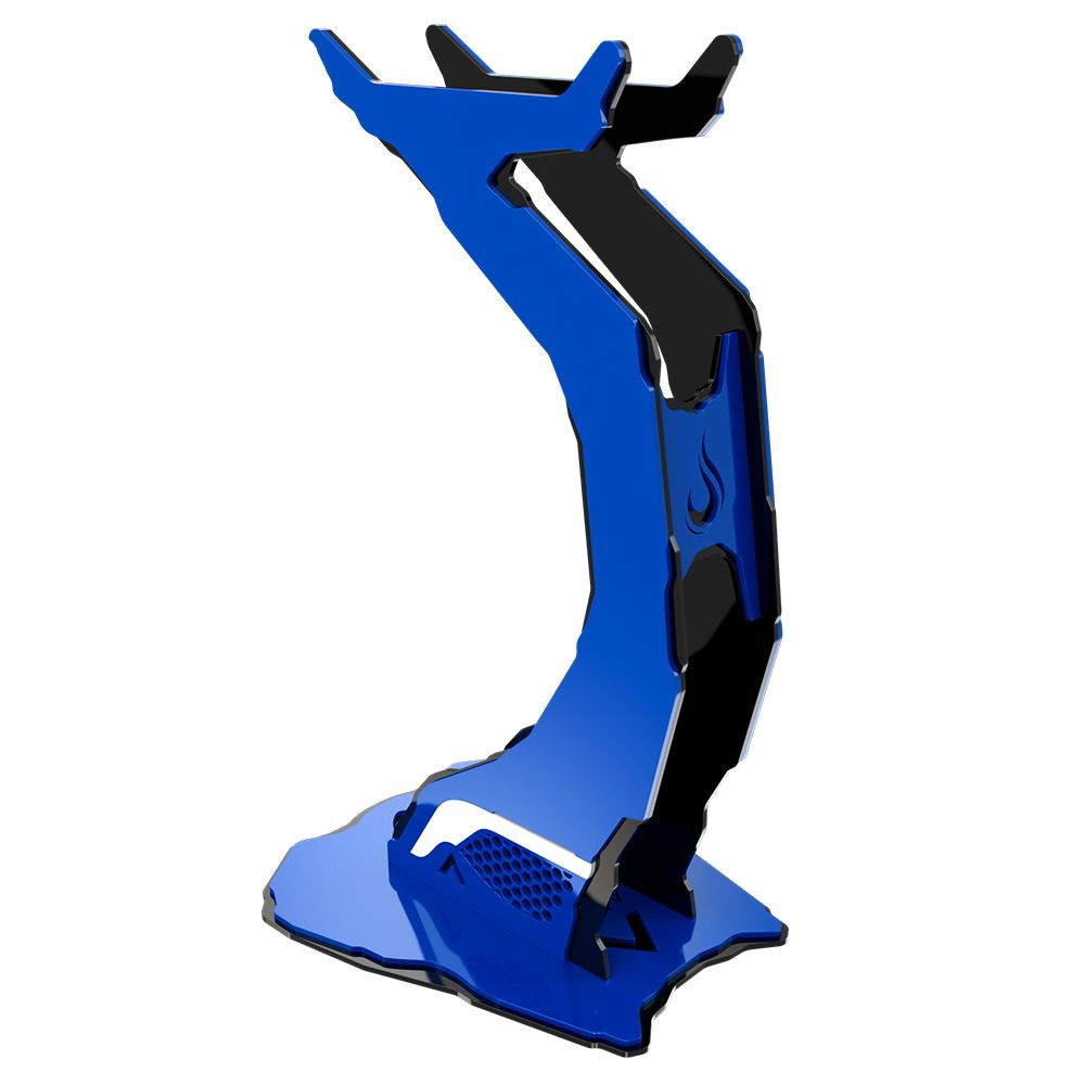 Suporte Headset Rise Mode Alien - Preto e Azul