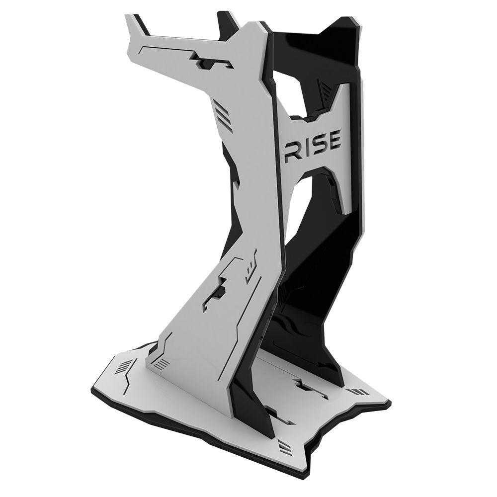 Suporte Headset Rise Mode Venon Pro - Preto e Branco