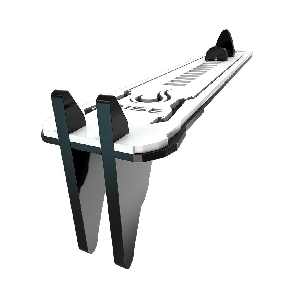 Suporte Placa de Video Rise Mode LV2 Small - Preto e Branco  - Loja Rise Mode