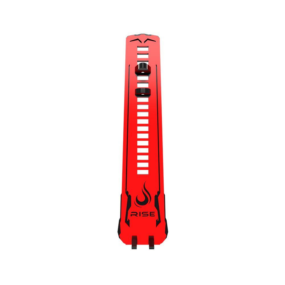 Suporte Placa de Video Rise Mode LV2 Small - Preto e Vermelho
