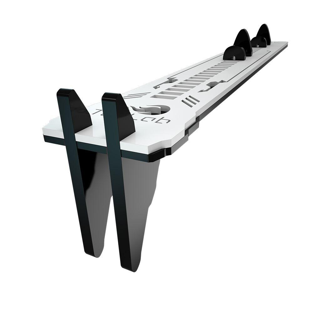 Suporte Placa de Video Rise Mode LV2 TecLab Edition - Preto e Branco