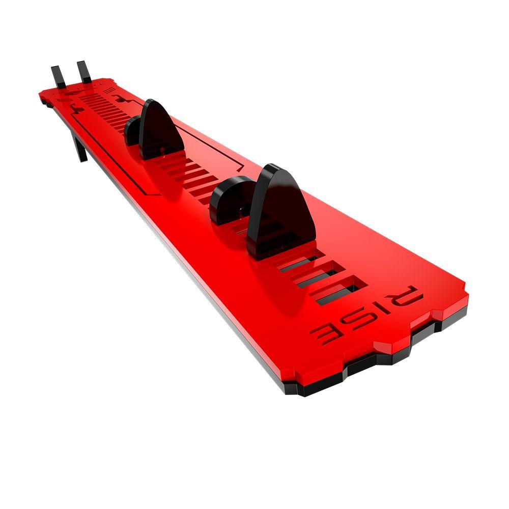 Suporte Placa de Video Rise Mode LV2 TecLab Edition - Preto e Vermelho