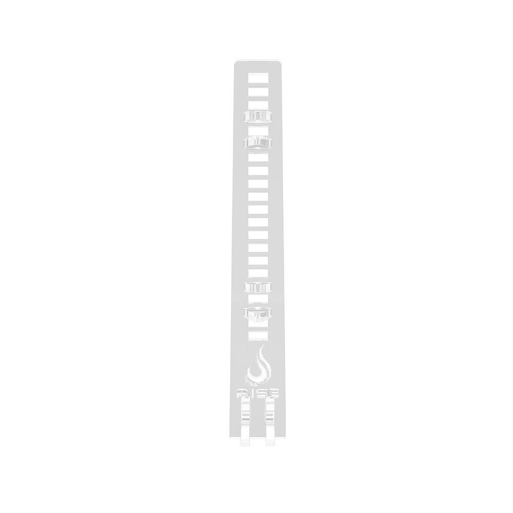 Suporte Placa de Video Rise Mode Small Aqua - Transparente  - Loja Rise Mode