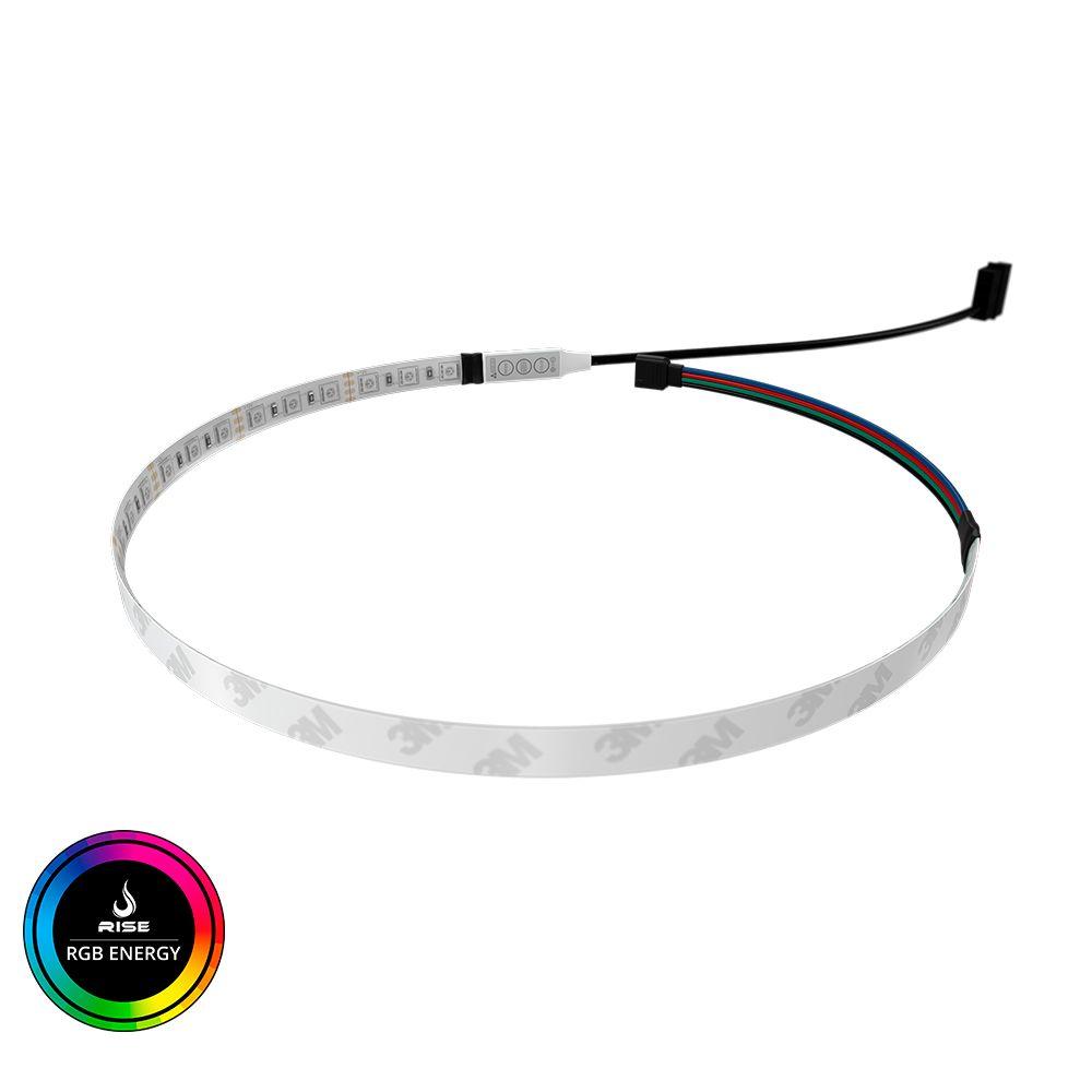 Tira de LED para Gabinete Rise Mode - RGB Molex 50Cm  - Loja Rise Mode