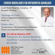 Cursos Modulares em Ortodontia Avançado - MÓDULO 5 - Dr. Nelson J. Oppermann