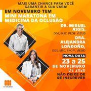 MINI-MARATONA EM MEDICINA DA OCLUSÃO 23 a 25 de novembro de 2020