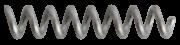 Molas de compressão de Níquel-Titânio (mola aberta)