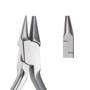 Alicate ortodôntico meia cana Tipo II com ponta intermediária TYPE II  - N&F Ortho Dental