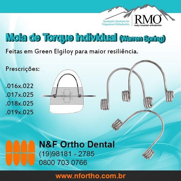 Mola de Torque anterior (Warren spring)  - N&F Ortho Dental