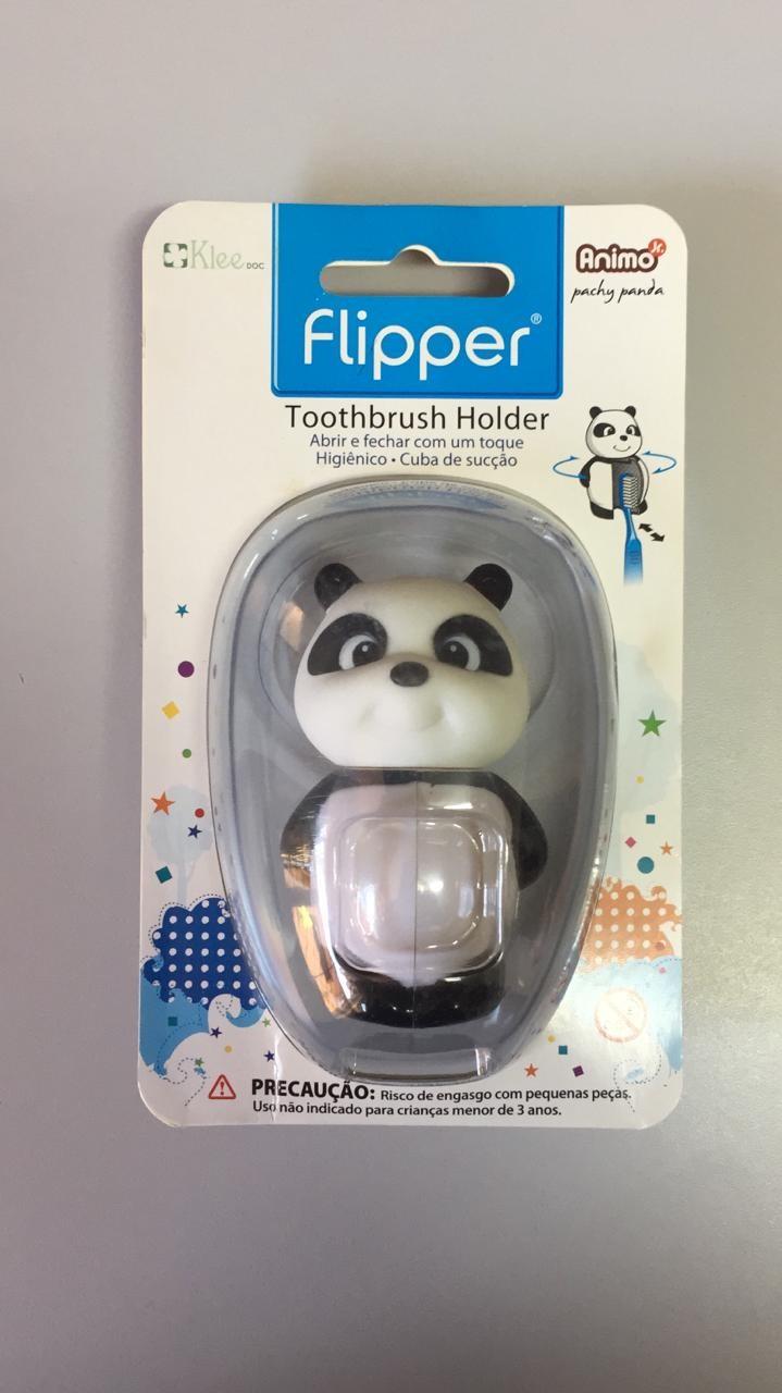 Porta escova para crianças - Flipper  - N&F Ortho Dental