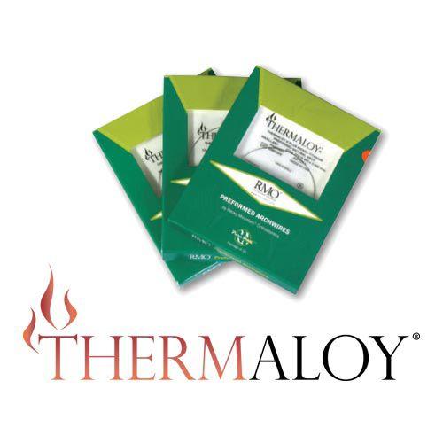 Thermaloy Pré Contornado - NATURAL  - N&F Ortho Dental