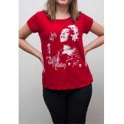 Camiseta Billie Holiday Feminina