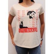 Camiseta Chet Baker Feminina