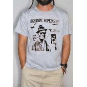 Camiseta Lightning Hopkins Masculina