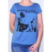 Camiseta Muddy Waters Feminina