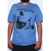 Camiseta Muddy Waters Masculina