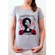 Camiseta Nina Simone Feminina