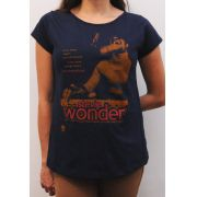 Camiseta Stevie Wonder Feminina