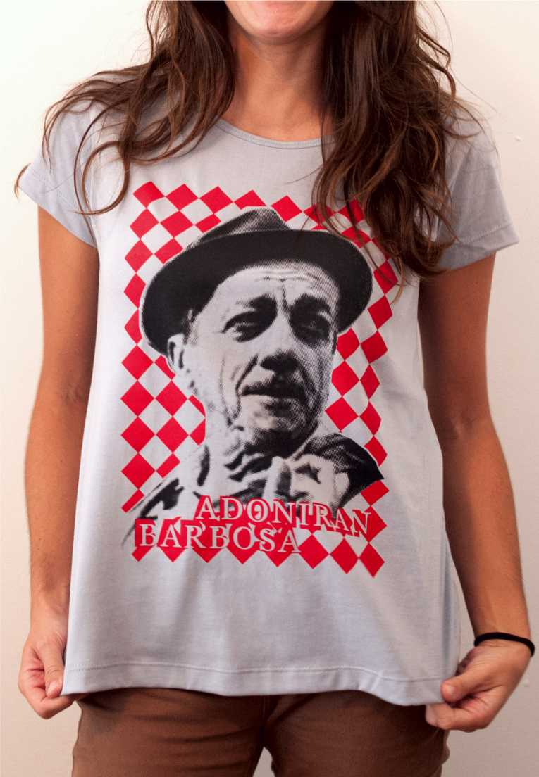 Camiseta Adoniran Barbosa Feminina