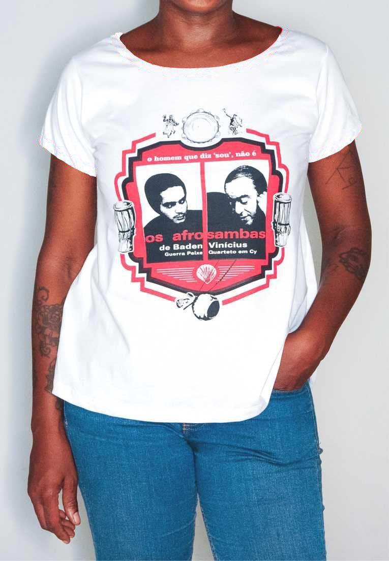 Camiseta Afrosambas Masculina