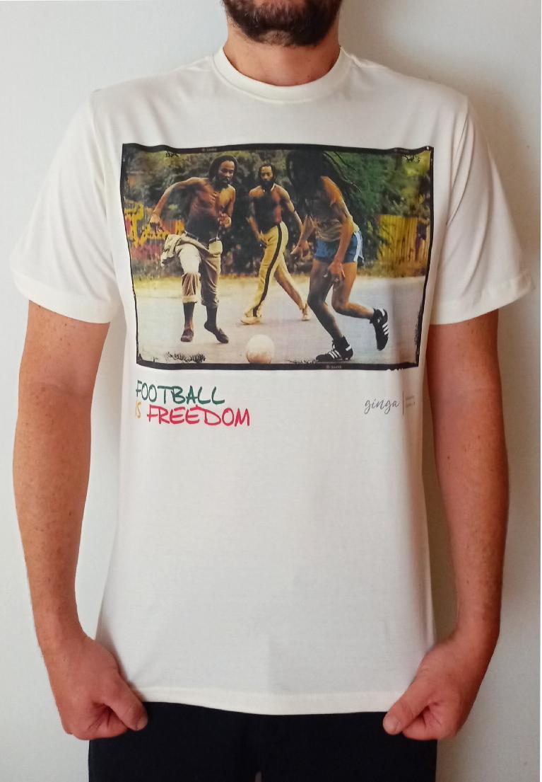 Camiseta Bob Marley Ginga