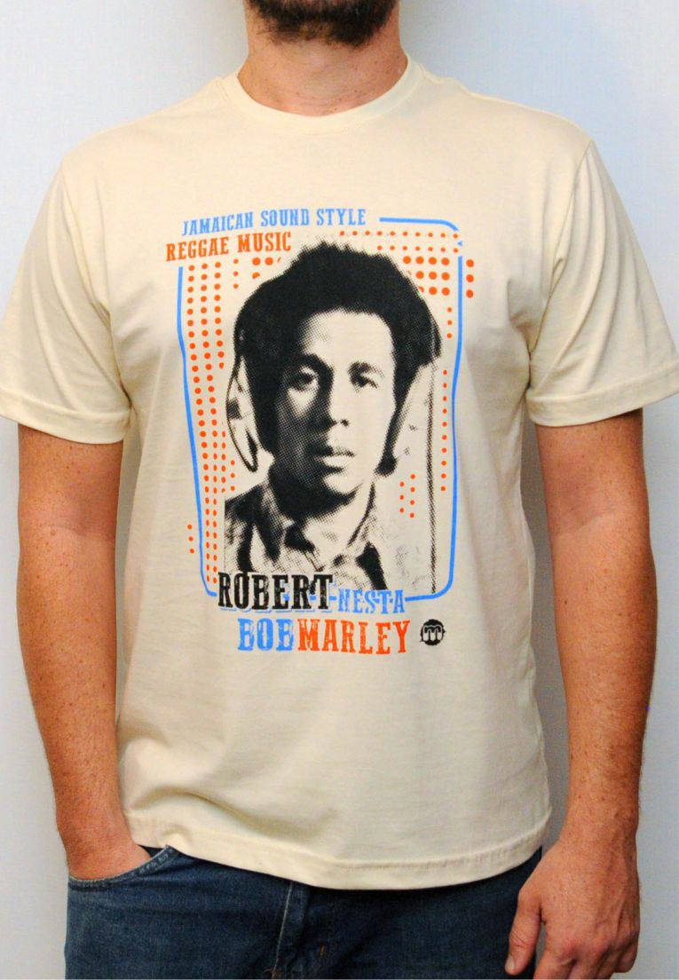 Camiseta Bob Marley Masculina