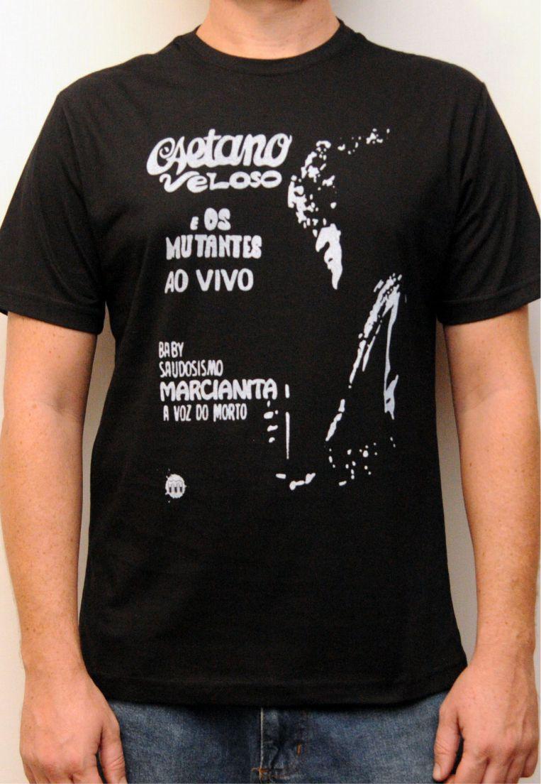 Camiseta Caetano Veloso e os Mutantes Feminina