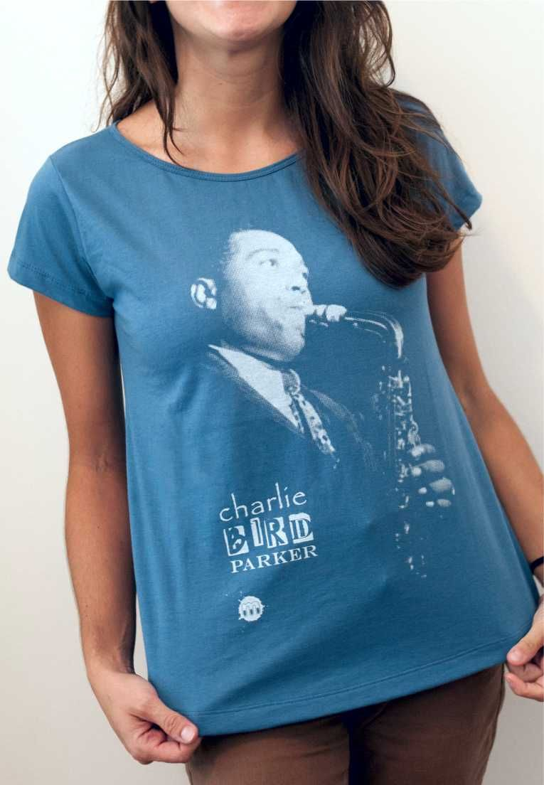 Camiseta Charlie Parker Feminina