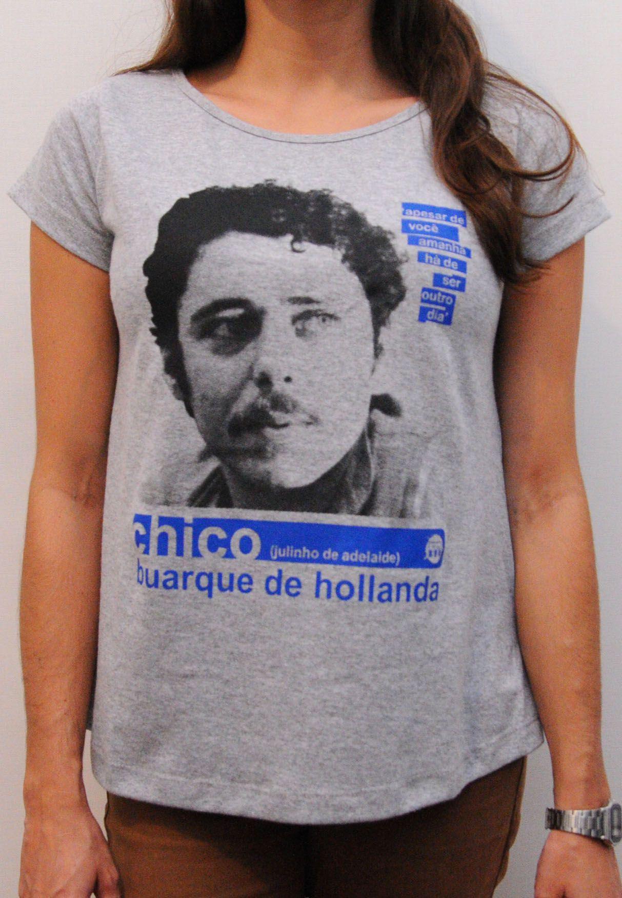Camiseta Chico Buarque Feminina