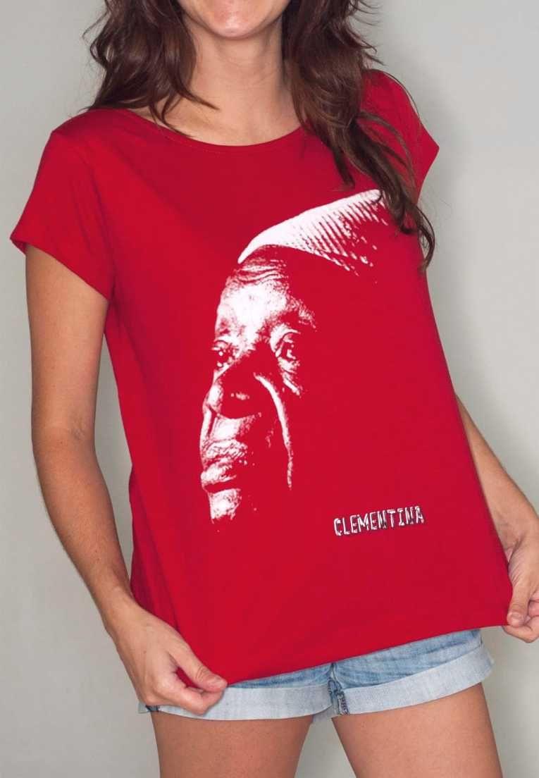 Camiseta Clementina de Jesus Feminina
